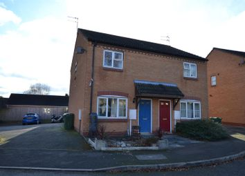 Thumbnail 2 bed semi-detached house for sale in Harley Close, Shepshed, Leicestershire