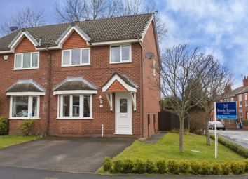 Thumbnail 3 bed semi-detached house for sale in Thistleton Close, Macclesfield