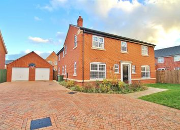 Thumbnail 4 bed detached house for sale in Exeter Close, Syston, Leicestershire