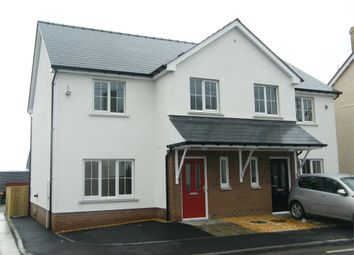 Thumbnail 3 bedroom semi-detached house for sale in 1 And 2 Midland Mews, Llanybydder, Carmarthenshire