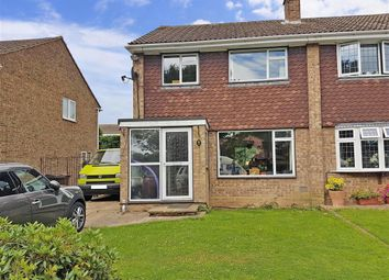 Thumbnail 3 bed semi-detached house for sale in Dowsett Lane, Ramsden Heath, Billericay, Essex