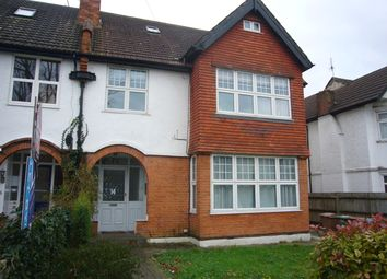 Thumbnail 1 bed flat to rent in Burnell Road, Sutton