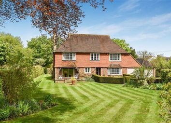 Thumbnail 4 bed detached house for sale in Fairway, Merrow, Guildford, Surrey