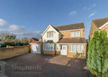 Thumbnail 4 bed detached house for sale in Burgess Close, Cheshunt, Hertfordshire