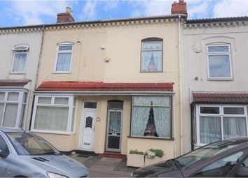 Thumbnail 3 bedroom terraced house for sale in Carlton Road, Birmingham