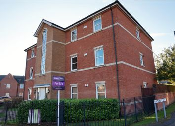 Thumbnail 2 bed flat for sale in Hermitage Way, Northampton