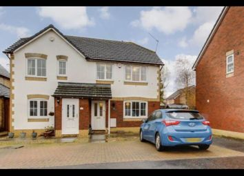 Thumbnail 3 bed semi-detached house to rent in Great Burnet Cl, Cardiff