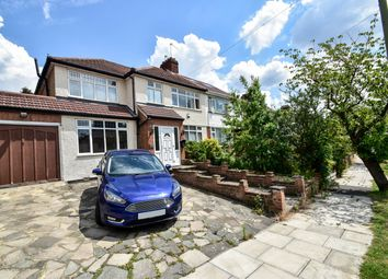 Thumbnail 5 bed semi-detached house to rent in Riverdene, Edgware, Barnet