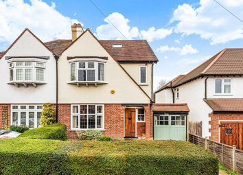 Thumbnail 4 bed semi-detached house for sale in Anglesey Gardens, Carshalton