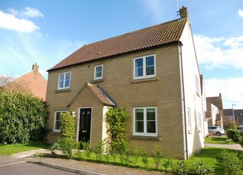 Thumbnail 4 bedroom detached house for sale in Mallow Close, Ely