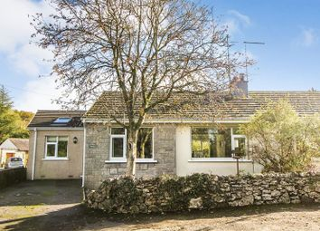 Thumbnail 3 bed semi-detached bungalow for sale in Carr Bank Road, Carr Bank, Milnthorpe