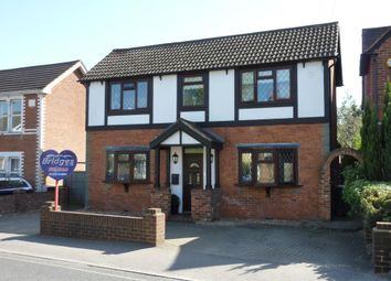 Thumbnail 3 bed detached house for sale in Fleet Road, Farnborough