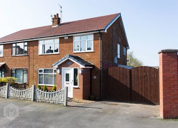 Thumbnail 3 bed semi-detached house for sale in Shaftesbury Avenue, Lostock, Bolton