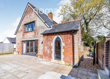 Thumbnail 3 bed detached house to rent in Winchester Road, Fair Oak, Eastleigh
