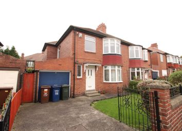 Thumbnail 3 bedroom semi-detached house to rent in Bourne Avenue, Fenham, Newcastle Upon Tyne