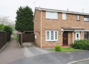 Thumbnail 3 bed semi-detached house for sale in Glamis Close, Stretton, Burton-On-Trent