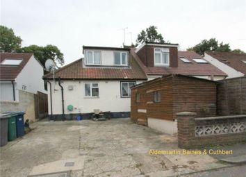 Thumbnail 3 bed semi-detached bungalow for sale in Robin Lane, London