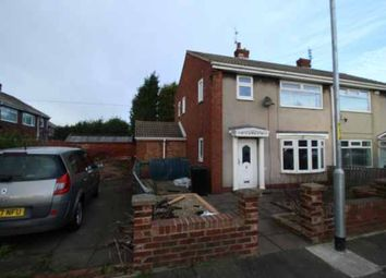 Thumbnail 3 bed semi-detached house for sale in Terrier Close, Bedlington, Northumberland