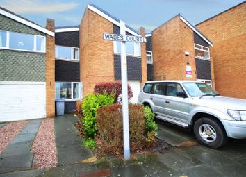 Thumbnail 3 bed town house for sale in Wades Court, Blackpool, Lancashire
