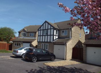 Thumbnail 4 bed detached house for sale in Sandown Drive, Chippenham