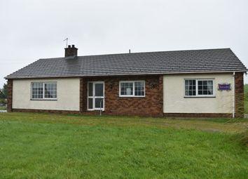 Thumbnail 4 bed detached bungalow for sale in Plwmp, Llandysul