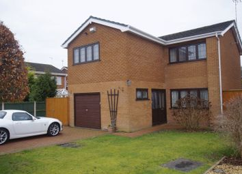 Thumbnail 4 bedroom detached house for sale in Cornish Close, Wrexham