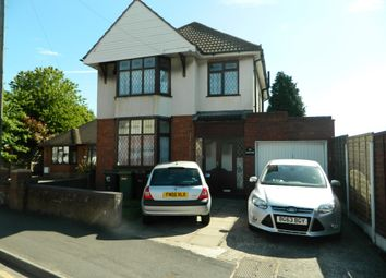 Thumbnail 3 bed detached house for sale in Moseley Road, Willenhall