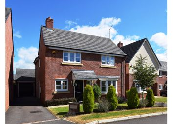 Thumbnail 4 bed detached house for sale in Beech Avenue, Crewe