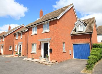Thumbnail 4 bedroom link-detached house for sale in Tern Road, Stowmarket, Suffolk