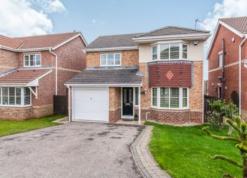 Thumbnail 4 bedroom detached house for sale in Oakwood Close, Hartlepool