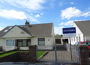 Thumbnail 2 bed semi-detached bungalow to rent in Coychurch Road, Pencoed, Bridgend