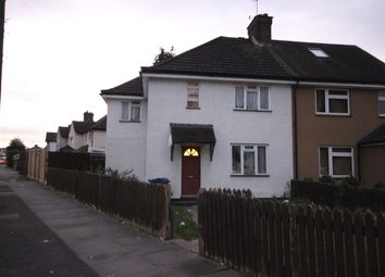 Thumbnail 3 bedroom semi-detached house to rent in Merlin Crescent, Edgware