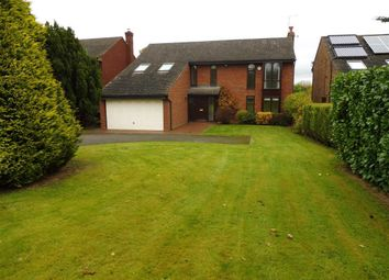 Thumbnail 4 bed detached house to rent in Red Lane, Burton Green, Kenilworth