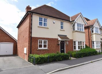 Thumbnail 4 bed detached house for sale in Maxwell Crescent, Northampton