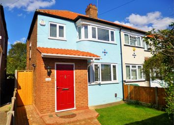 Thumbnail 3 bed end terrace house to rent in Woodhouse Avenue, Perivale, Greenford, Greater London