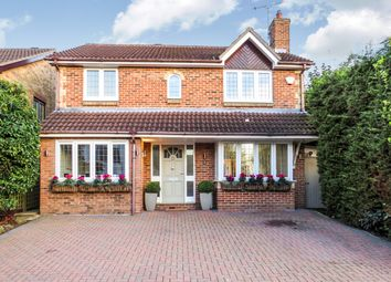 Thumbnail 4 bed detached house for sale in Earl Mountbatten Drive, Billericay