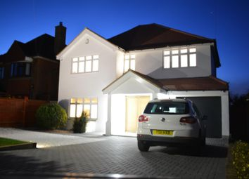 Thumbnail 5 bed detached house for sale in Ruden Way, Ewell, Epsom