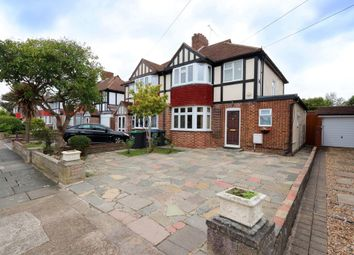 Thumbnail 3 bed semi-detached house for sale in Lawrence Avenue, Old Malden, Worcester Park