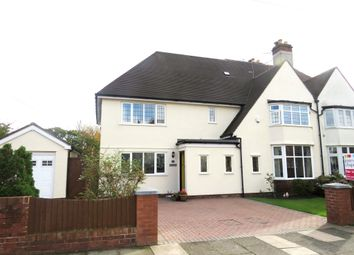 Thumbnail 5 bed semi-detached house for sale in Meadowcroft Road, Meols, Wirral