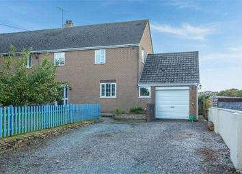 Thumbnail 3 bed semi-detached house for sale in Tredethy Road, Helland, Bodmin, Cornwall