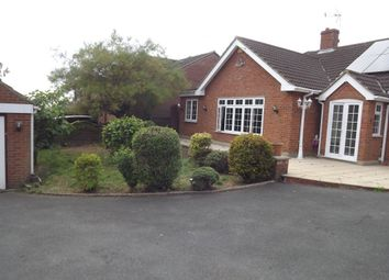 Thumbnail 4 bed bungalow to rent in Hamlet Hill, Roydon, Harlow