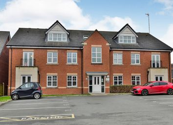 Thumbnail 2 bed flat for sale in Wallbrook Avenue, Macclesfield, Cheshire