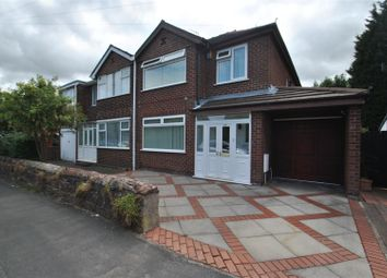 Thumbnail 3 bed semi-detached house for sale in Thelwall New Road, Grappenhall, Warrington
