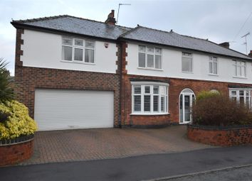 Thumbnail 4 bed semi-detached house for sale in Arundel Avenue, Mickleover, Derby