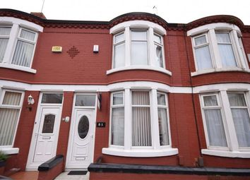 Thumbnail 2 bedroom terraced house for sale in Willowcroft Road, Wallasey, Merseyside