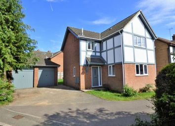 Thumbnail 4 bed detached house to rent in Gresham Drive, West Hunsbury, Northampton