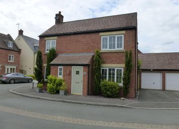 Thumbnail 4 bed detached house for sale in Soyuz Crescent, Oakhurst, Swindon