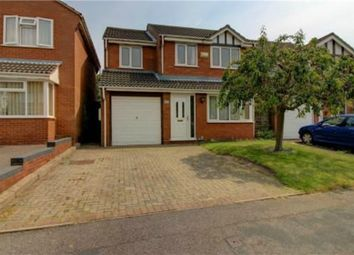 Thumbnail 4 bed detached house for sale in Arbor Close, Tamworth, Staffordshire