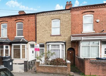 Thumbnail 2 bedroom terraced house for sale in Percy Road, Sparkhill, Birmingham