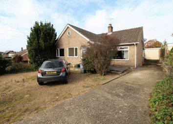 Thumbnail 3 bed bungalow for sale in Park Road, Spixworth, Norwich